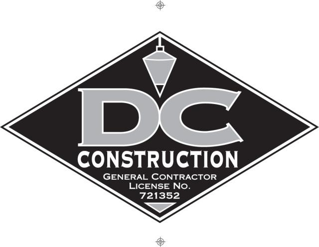 D C Construction logo