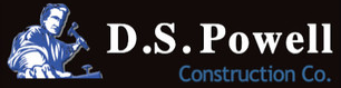 D.S. Powell Construction Company Logo