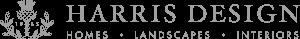 HARRIS DESIGN Homes, Landscapes & Interiors logo