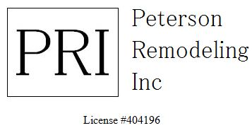 Peterson Remodeling, Inc. logo