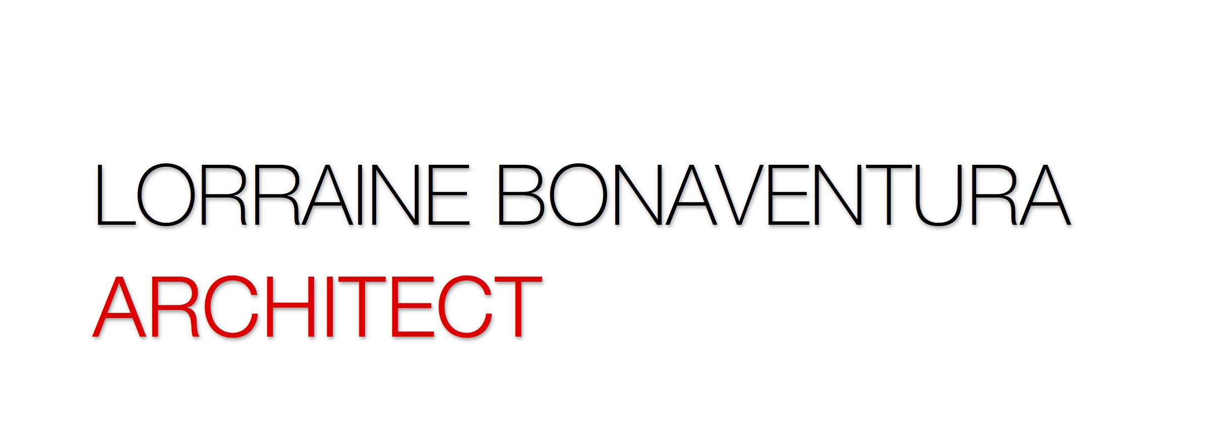 Lorraine Bonaventura Architect