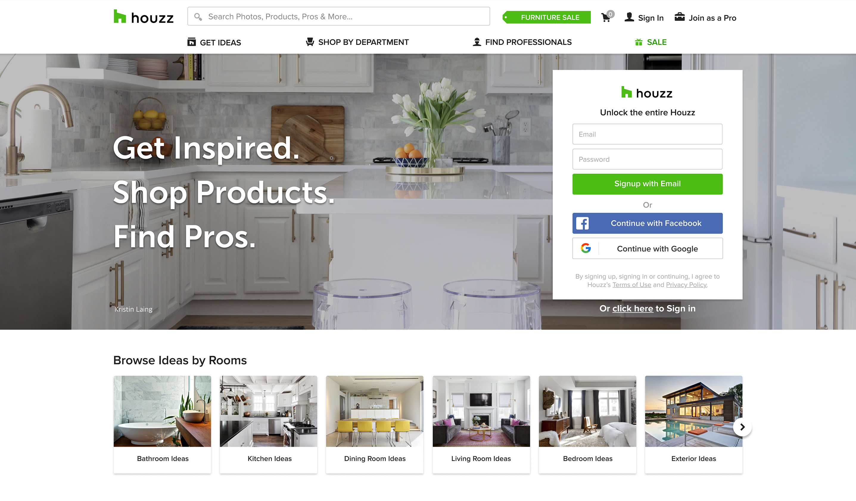 houzz press media resources and press releases