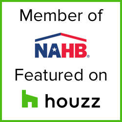 Member of NAHB - featured on Houzz