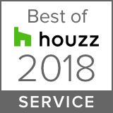 Best of Houzz Service Award 2018 to The Wall Sticker Company